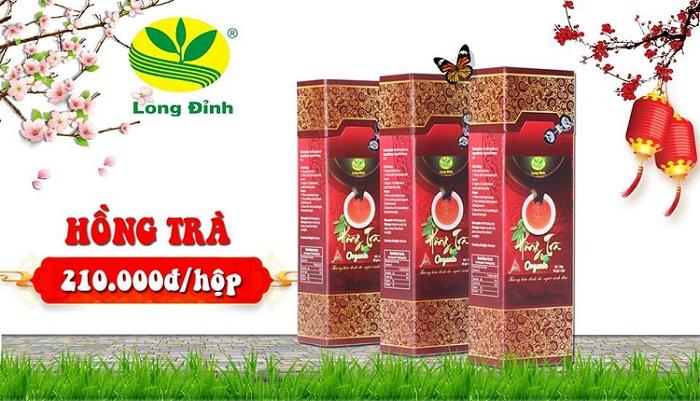 Hồng trà Ô Long biếu tết