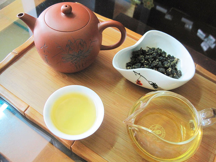 màu trà ô long