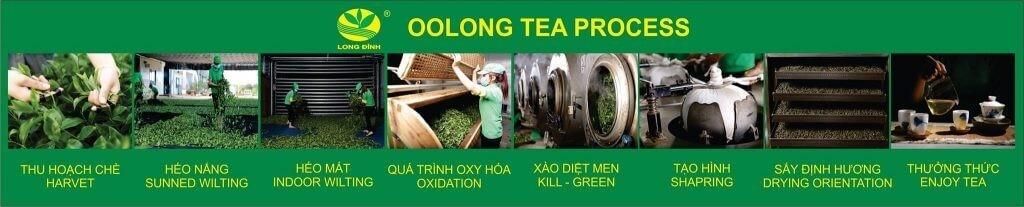 Quy trình sản xuất trà Ô Long