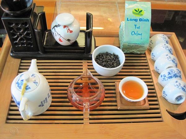 màu nước trà Đông Phương Mỹ Nhân