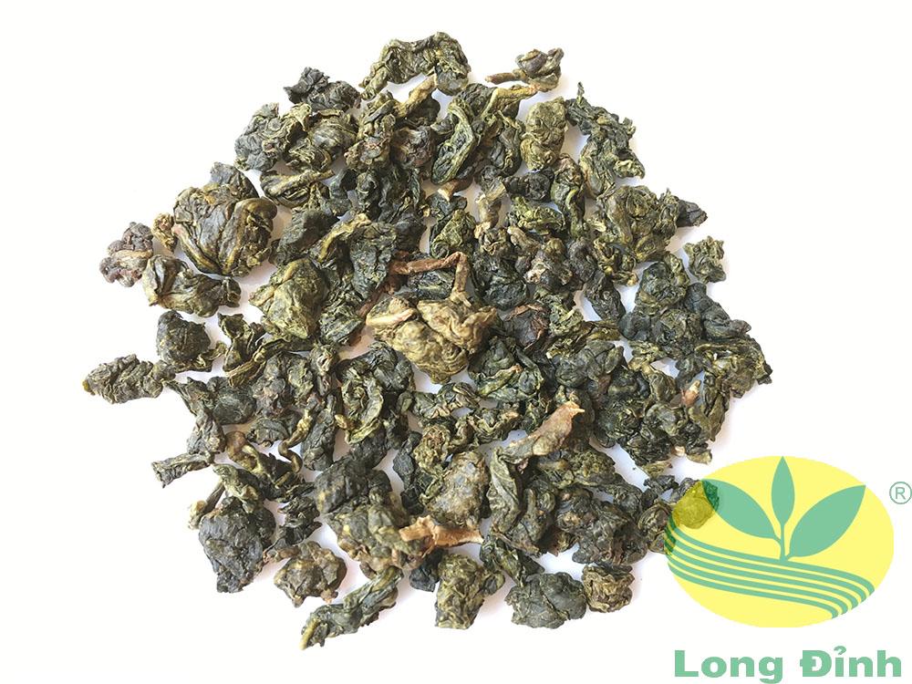 viên trà Ô Long Lá vàng