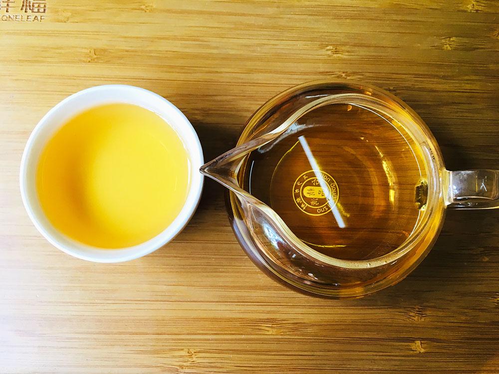 màu nước trà Đại Hồng Bào