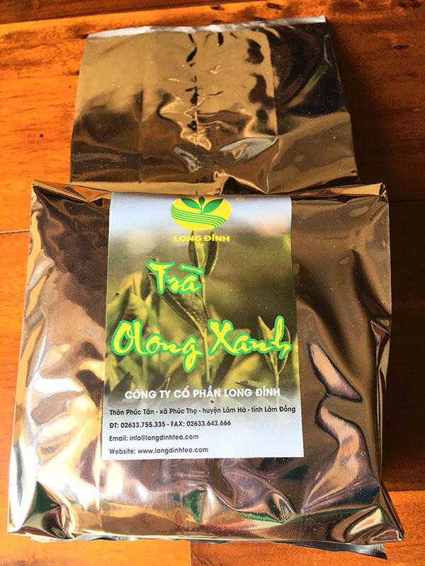 gói trà Ô long xanh 500 gram